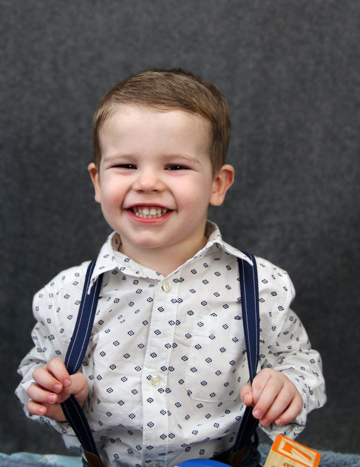 Toddler Boy Smiling