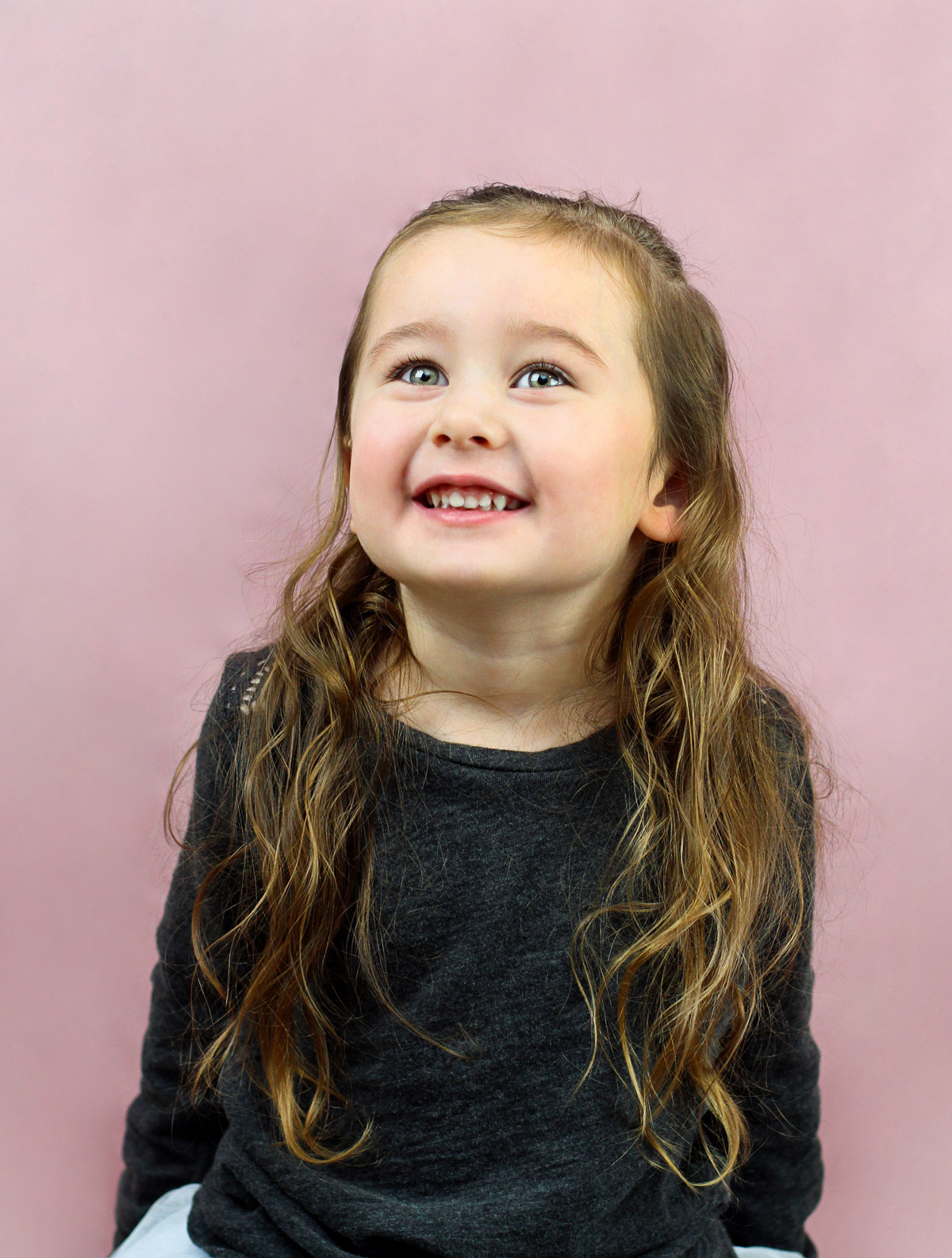 Toddler Girl Smiling