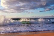 Waves Crash Polihale, Hawaii