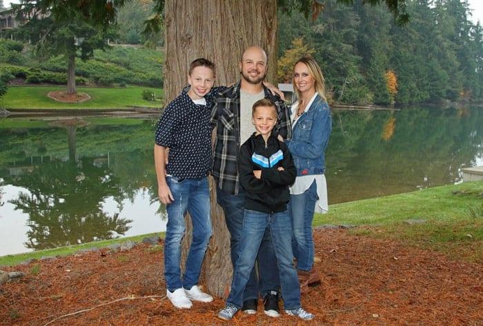 Family Photography Shoot at Lake Tapps