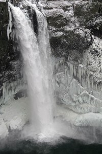 Snoqualmie Falls, December 2009 Freeze