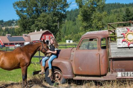 Lauren and Her Horse