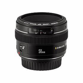 Canon EF 50mm f1.4 USM Standard Lens for Canon SLR Cameras