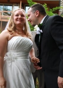 Mandy and Colin – August 21, 2010